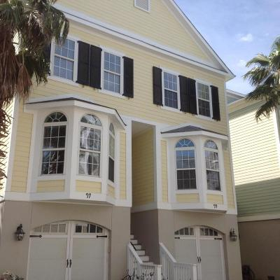 Folly Beach SC Attached For Sale: $529,000