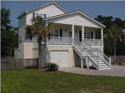 Isle Of Palms Single Family Home For Sale: 30 30th Avenue
