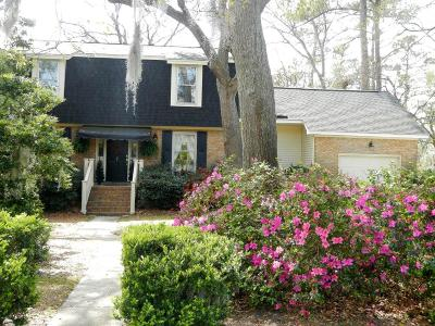 Charleston Single Family Home Contingent: 7 Garden Corner Court