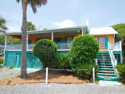 Folly Beach Single Family Home For Sale: 1120 E Arctic Avenue