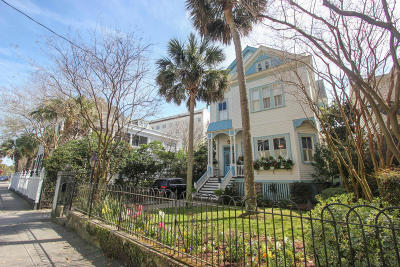 Charleston Single Family Home For Sale: 43 South Battery