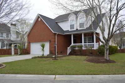Charleston Single Family Home For Sale: 1038 Bidwell Circle