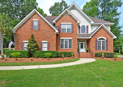 North Charleston Single Family Home Contingent: 8752 E Fairway Woods Drive