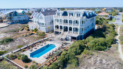 Isle Of Palms Single Family Home For Sale: 622 Ocean Boulevard