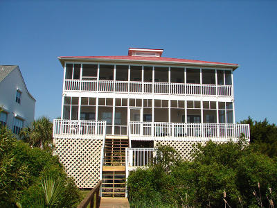 Edisto Beach Single Family Home For Sale: 3618 Yacht Club Road
