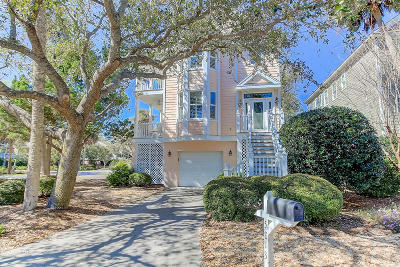 Isle Of Palms Single Family Home Contingent: 5813 Back Bay Drive
