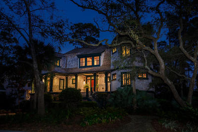 Seabrook Island Single Family Home For Sale: 3121 Marshgate Drive