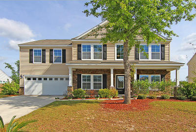 Hanahan Single Family Home For Sale: 8007 Indian Hill Drive