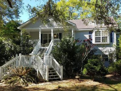 Edisto Island Single Family Home For Sale: 8842 Shell House Road
