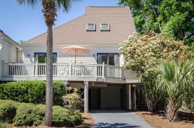 Seabrook Island, Seabrook Island Attached For Sale: 751 Spinnaker Beachhouse