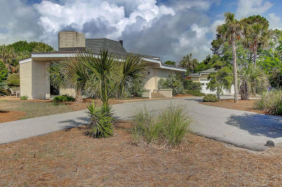 Seabrook Island Single Family Home For Sale: 3773 Seabrook Island Road