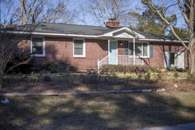 James Island Single Family Home For Sale: 1166 Montgomery Road