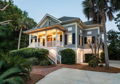 Seabrook Island Single Family Home For Sale: 2625 Jenkins Point Road