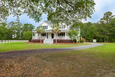 Ravenel Single Family Home For Sale: 6444 Farm House Road