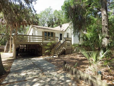 Edisto Island Single Family Home For Sale: 33 Whalers Court