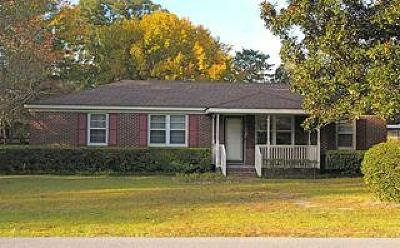 James Island Single Family Home Contingent: 1738 Santee Street