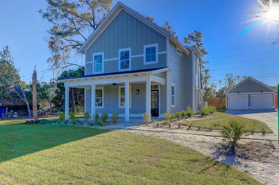 Charleston County Single Family Home Contingent: 860 W Madison Avenue