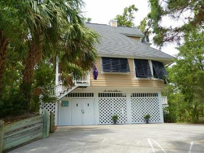 Edisto Island Single Family Home Contingent: 728 Fairway Drive