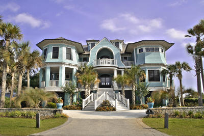 Isle Of Palms SC Single Family Home For Sale: $4,900,000