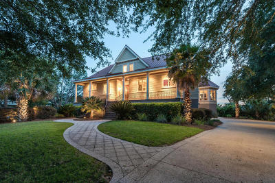 Seabrook Island Single Family Home For Sale: 2633 Jenkins Point Road