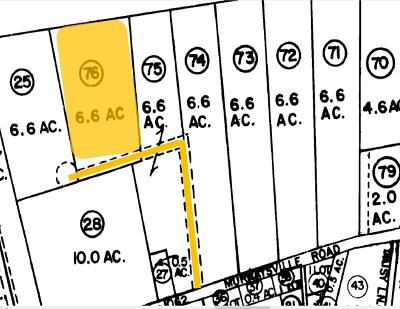 Residential Lots & Land For Sale: Murraysville Road