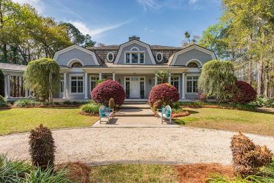 Wadmalaw Island Single Family Home For Sale: 5920 Selkirk Plantation Road