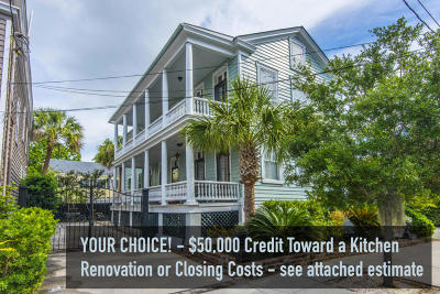 Charleston Single Family Home For Sale: 104 Beaufain Street