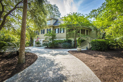 Seabrook Island Single Family Home For Sale: 3470 Deer Run Drive