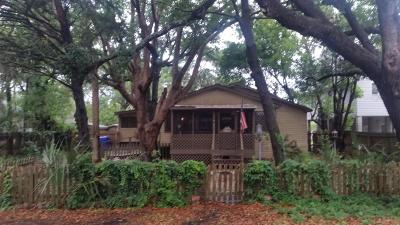 Folly Beach SC Single Family Home For Sale: $630,000