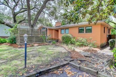 Folly Beach SC Single Family Home For Sale: $699,000