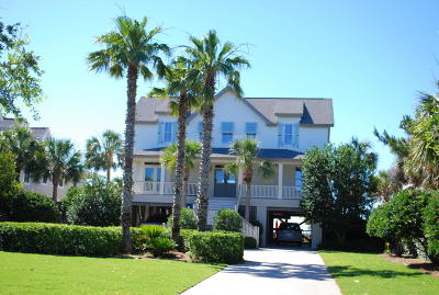Isle Of Palms Single Family Home For Sale: 212 Ocean Boulevard