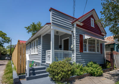 Charleston Single Family Home For Sale: 24 Moultrie Street