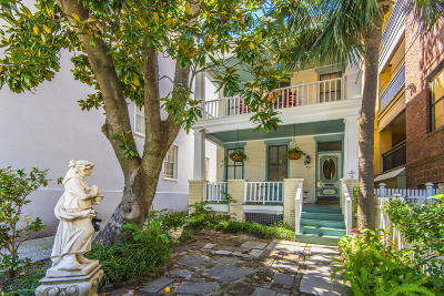 Charleston Single Family Home For Sale: 78 Society Street