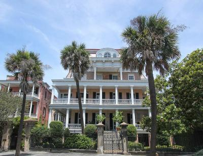 Charleston Single Family Home For Sale: 20 South Battery