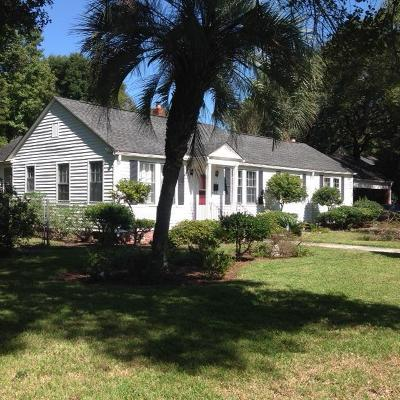 Charleston Single Family Home For Sale: 32 Rosedale (A And B) Drive