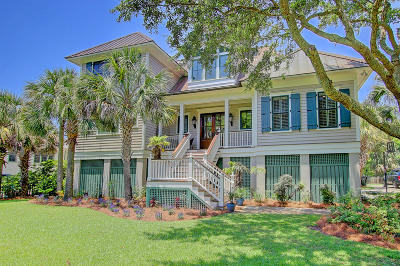 Sullivans Island Single Family Home For Sale: 1814 Central Avenue