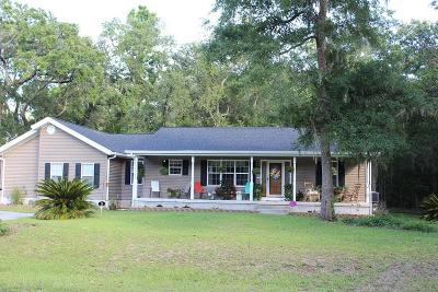 Edisto Island Single Family Home For Sale: 8207 Main House Drive