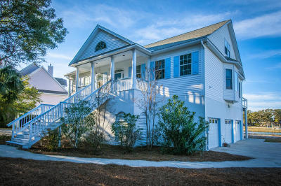 Folly Beach SC Single Family Home For Sale: $799,700