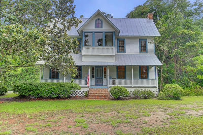 Ravenel Single Family Home For Sale: 6338 Farm House Road