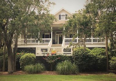 Edisto Beach Single Family Home For Sale: 207 Jungle Road