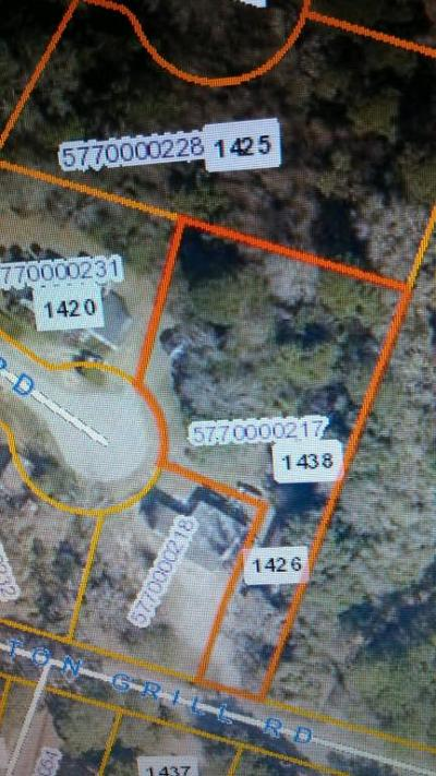 Residential Lots & Land For Sale: 1426 Boston Grill Road