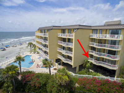 Folly Beach SC Attached For Sale: $799,000