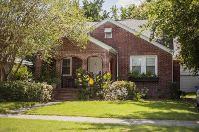 Charleston Single Family Home For Sale: 64 Darlington Avenue