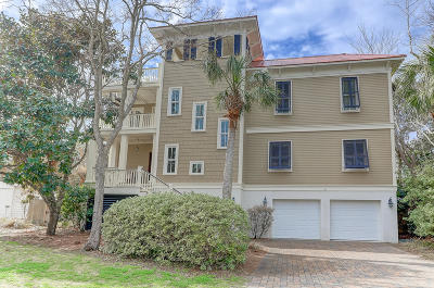 Isle Of Palms Single Family Home For Sale: 9 29th Avenue