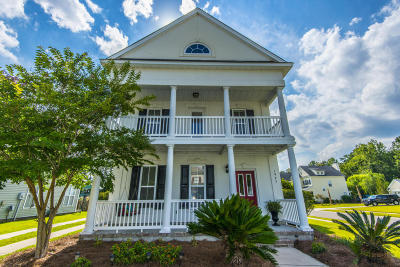 Mount Pleasant Single Family Home For Sale: 1925 Hubbell Drive