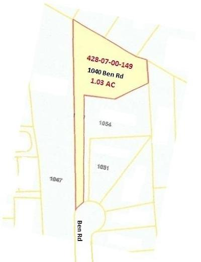 Charleston Residential Lots & Land For Sale: 1040 Ben Road