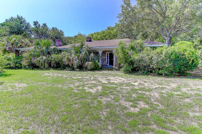 Sullivans Island Single Family Home For Sale: 2921 Jasper Boulevard