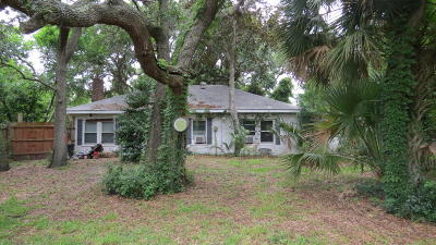 Folly Beach Single Family Home For Sale: 1202 E Ashley Avenue