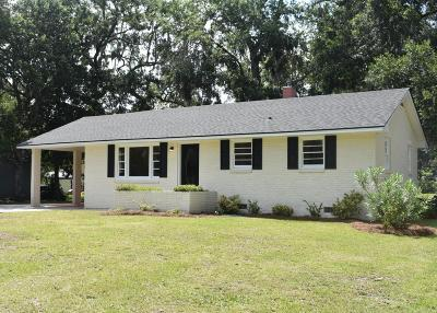 Mount Pleasant Single Family Home For Sale: 3666 Tower Drive