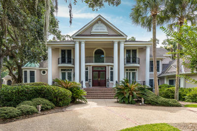 Johns Island Single Family Home For Sale: 2405 The Bent Twig